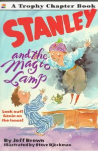 Stanley and the Magic Lamp book cover