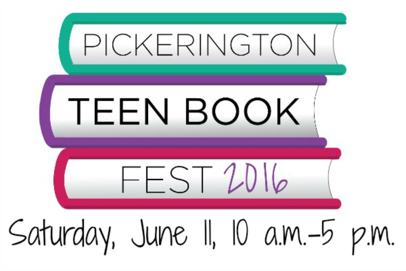 Pickering Teen Book Fest 2016