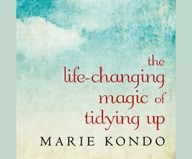 Life Changing Magic of Tidying Up book cover - digital