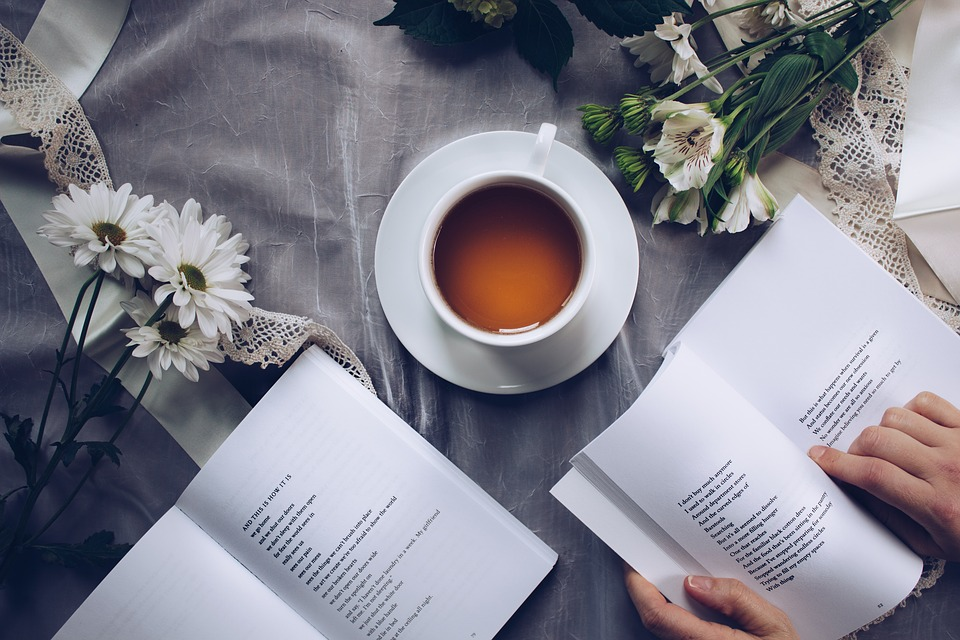 Tea and Poetry Book