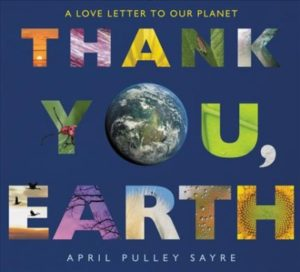 Thank you, Earth book cover