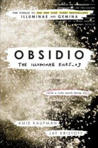Obsidio - Book Cover