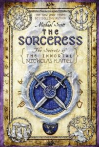 The Sorceress - Book Cover