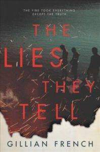 The Lies They Tell - Book Cover