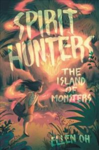 Book Cover - Spirit Hunters - The Island of Monsters