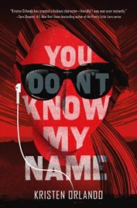 Book Cover - You Don't Know My Name