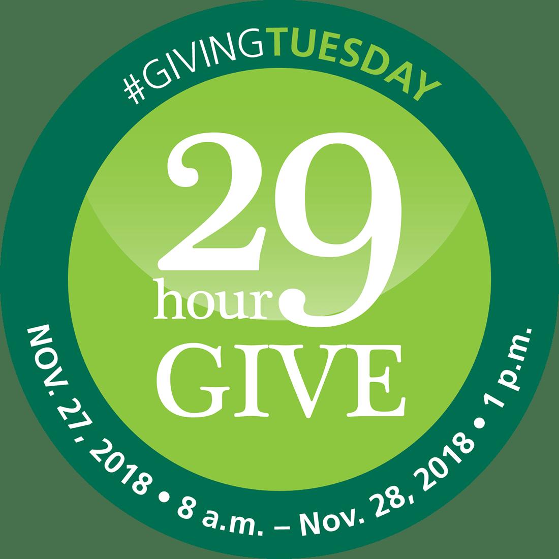 29 Hour Give Logo