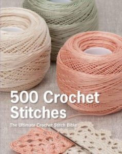 Book Cover - 500 Crochet Stitches