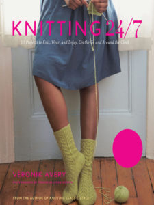 Book Cover - Knitting 24/7