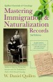 Mastering Immigration and Naturalization Records