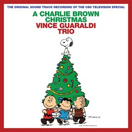 A Charlie Brown Vince Guaraldi Trio CD Cover