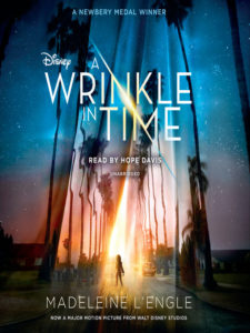 Overdrive Audiobook Cover - A Wrinkle in Time