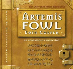 Book on CD Cover - Artemis Fowl