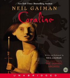 Book on CD Cover - Coraline