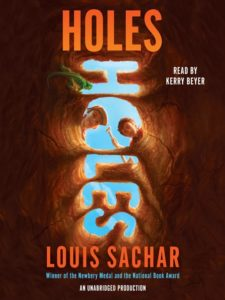 Overdrive Audiobook Cover - Holes