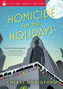 Homicide for the Holidays Book Cover