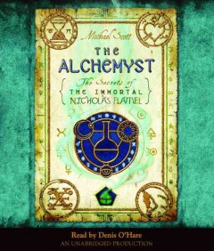 Book on CD Cover - The Alchemyst