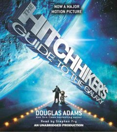 Book on CD Cover - The Hitchhiker's Guide to the Galaxy