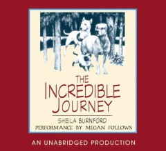 Book on CD Cover - The Incredible Journey