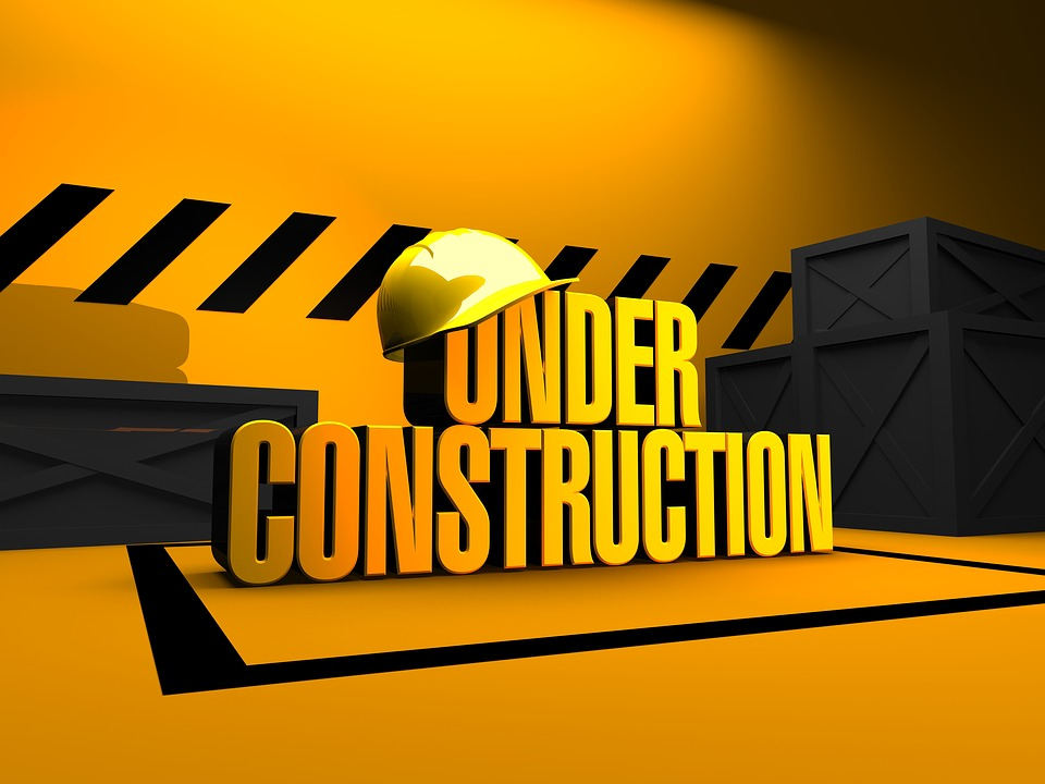 Under Construction Sign for 11-16-18