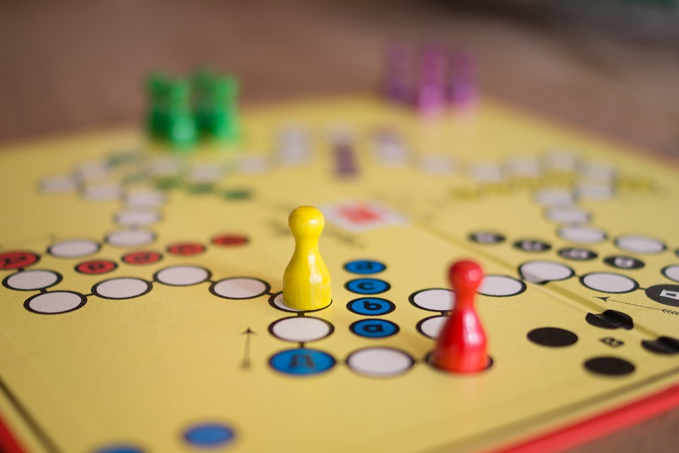 Picture of a board game