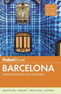 Fodor's Barcelona book cover