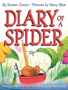 Diary of a Spider Book Cover